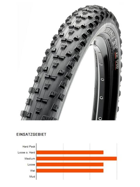"Maxxis Forekaster - Pneu vélo - 29"" Dual TR EXO souple noir"